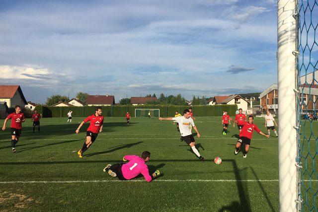 NK Ivančica Ivanec - Sloboda Varaždin (Darko Jagić zabija za 2:1)
