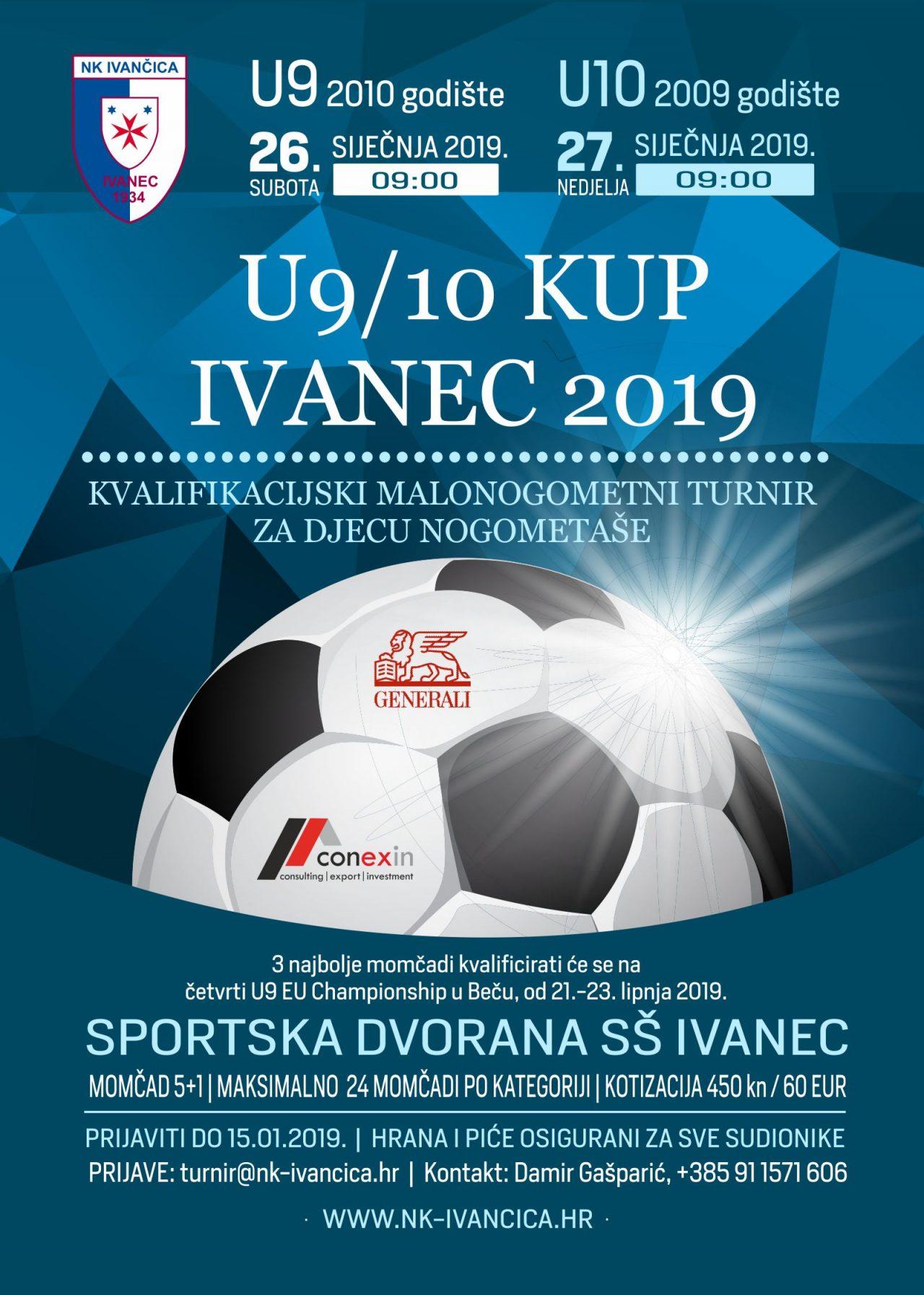 Plakat U9-10 KUP Ivanec 2019